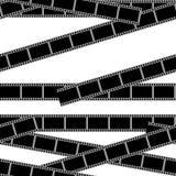 Modèle sans couture heure de projection du film Images stock
