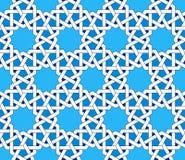 Modèle sans couture islamique Ornements géométriques orientaux, art arabe traditionnel Photo stock