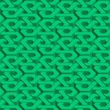 Modèle sans couture isométrique Images libres de droits