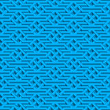 Modèle sans couture isométrique Images stock