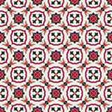 Modèle sans couture magnifique marocain, tuiles portugaises, Azulejo, ornements Peut être employé pour le papier peint, motifs de Photos stock