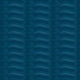 Modèle sans couture marin avec des vagues illustration stock