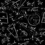 Modèle sans couture mathématique Photographie stock libre de droits