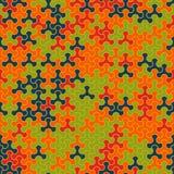 Modèle sans couture moderne de tessellation de la géométrie de vecteur Photos libres de droits