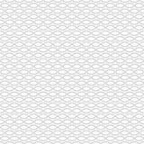 Modèle sans couture moderne simple avec les anneaux gris Configuration japonaise Texture créative Vecteur Photos libres de droits