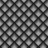 Modèle sans couture monochrome géométrique Image libre de droits