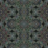Modèle sans couture multicolore moderne de kaléidoscope Illustration de Vecteur