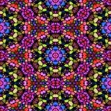 Modèle sans couture multicolore moderne de kaléidoscope Illustration Libre de Droits