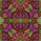Modèle sans couture multicolore moderne de kaléidoscope Illustration Stock