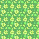 Modèle-sans couture-nature-fleur Illustration Stock