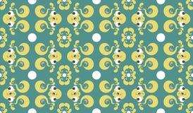 Modèle-sans couture-nature-grenouille Images libres de droits