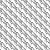 Modèle sans couture onduleux abstrait de papier peint Photo stock