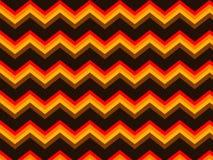 Modèle sans couture orange de fond de Chevron Brown Photos stock
