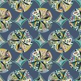 Modèle sans couture oriental Image stock