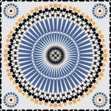 Modèle sans couture ornemental du Maroc Images stock