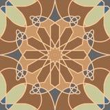 Modèle sans couture ornemental du Maroc Image stock