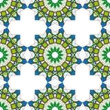Modèle sans couture ornemental du Maroc Images libres de droits