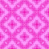 Modèle sans couture ornemental rose Texture sans fin Ornement géométrique oriental illustration libre de droits