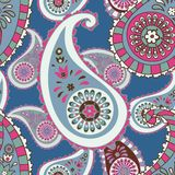 Modèle sans couture. Paisley Photo stock
