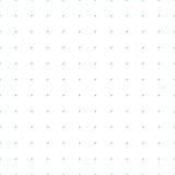 Modèle sans couture pointillé de papier de graphique de grille illustration de vecteur