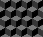 Modèle sans couture polygonal Image libre de droits