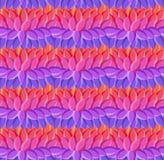 Modèle sans couture rayé ornemental indigène décoratif lumineux de textile Images libres de droits