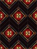 Modèle sans couture royal Photographie stock