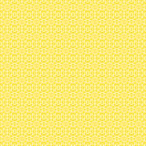 Modèle sans couture simple jaune Photographie stock