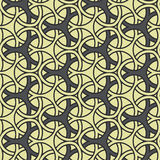 Modèle sans couture souillé de tuile géométrique traditionnelle Photo stock