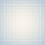 Modèle sans couture tramé radial de vecteur Texture bleue et blanche douce d'ondulation illustration libre de droits