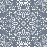Modèle sans couture triangulaire et rond ornemental du Maroc Image stock