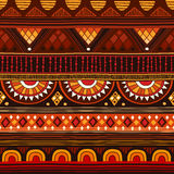 Modèle sans couture tribal illustration de vecteur