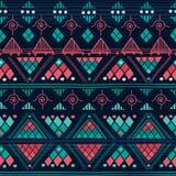 Modèle sans couture tribal Photos libres de droits