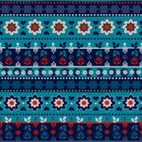 Modèle sans couture tribal Image libre de droits
