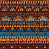 Modèle sans couture tribal Photos stock