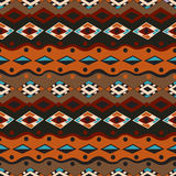 Modèle sans couture tribal Photo stock