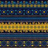 Modèle sans couture tribal Photographie stock libre de droits