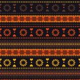 Modèle sans couture tribal Photographie stock