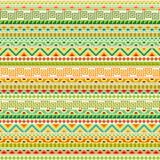 Modèle sans couture tribal coloré Photographie stock libre de droits