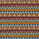 Modèle sans couture tribal Fond abstrait coloré de vecteur illustration de vecteur