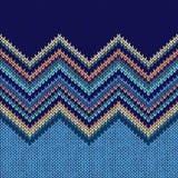 Modèle sans couture tricoté Photo libre de droits