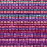 Modèle sans couture tricoté par mélange Photos stock