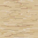 Modèle sans couture tricoté par mélange Images stock
