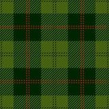 Modèle sans couture vert de plaid de tartan illustration libre de droits