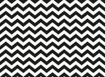 Modèle semaless noir et blanc de chevron de zigzag, backg abstrait Images libres de droits
