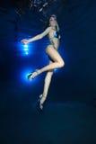 Modèle sous-marin Photographie stock libre de droits