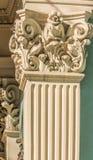 Modèle supérieur des colonnes Photos stock