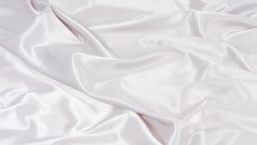 Modèle texturisé blanc de textile de mouvement banque de vidéos
