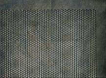Modèle en métal, fond grunge parfait Photo libre de droits