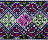 Modèle thaïlandais de sarongs Image libre de droits